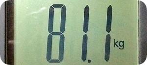 81.1kg