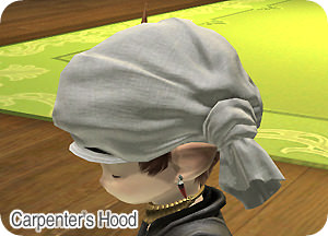 carpenter's-hood