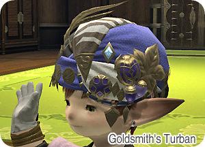 goldsmith's-turban